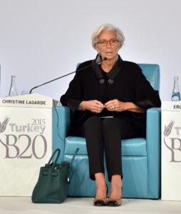 Traducción simultánea para el G20-B20 de Antalya (2015) - Christine Lagarde